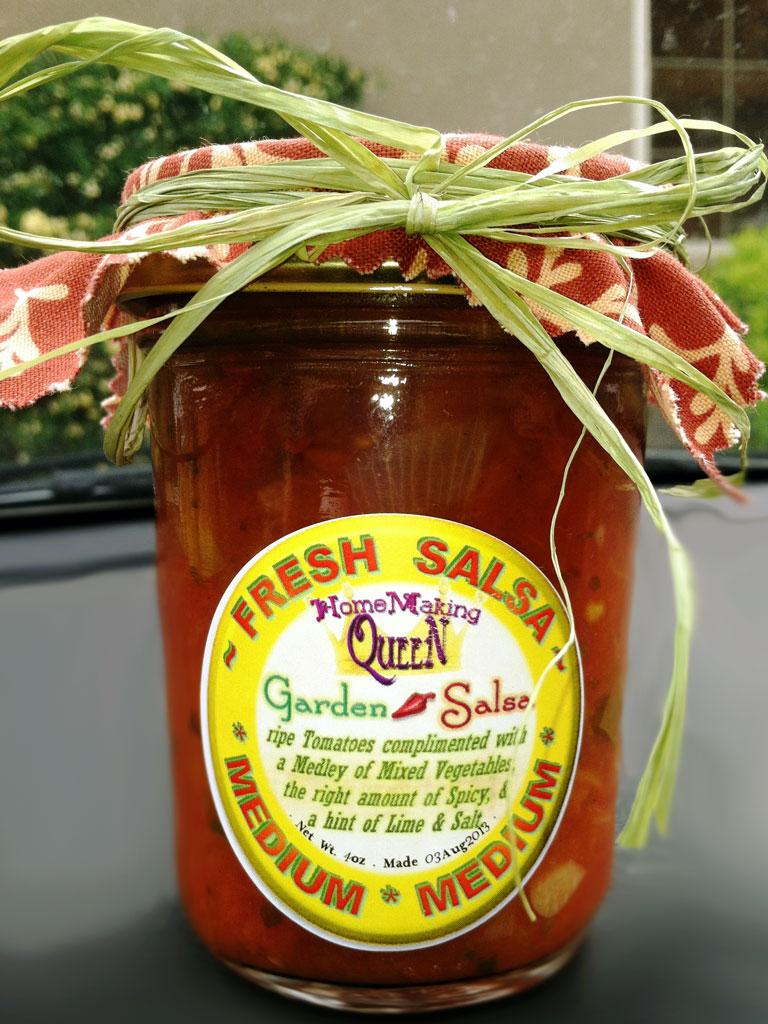 Garden Salsa – HomeMaking Queen